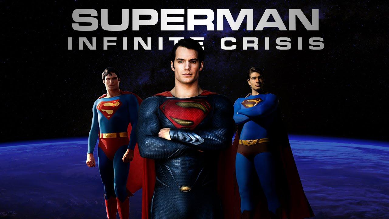 Superman Infinite Crisis Trailer Christopher Reeve Brandon Routh