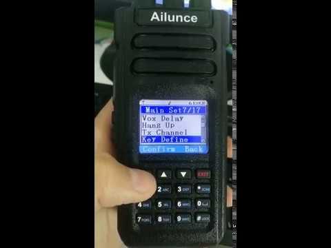 Burst 1750hz tone on Ailunce HD1
