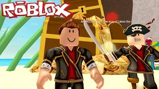 Escape from the Pirate Treasure Island ROBLOX Escape Treasure Island Obby