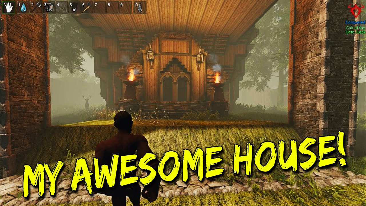 Reign of Kings - My Awesome House! - YouTube