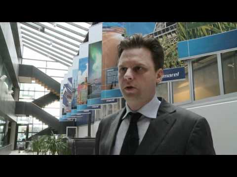 Arni Oddur Thordarson, Board's Chairman at Marel speaks about Marel and the Icelandic market