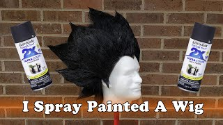 Spray Painting a Wig: Ultimate Styling Preservation