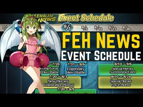 FEH Event Schedule Released! CYL 2 Incoming, Grand Conquest & More! | FEH News Fire Emblem Heroes