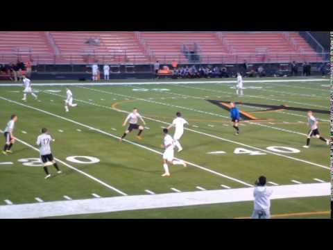 Ames High School Boys Soccer vs West Des Moines Valley 2014