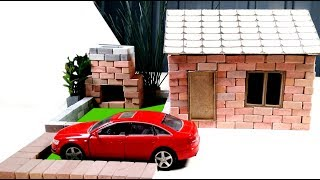 How to Build Amazing Mini House || BRICKLAYING