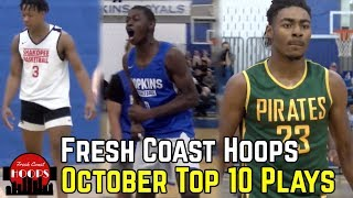 October Top 10 Plays! Minnesota Hoopers Show Out!