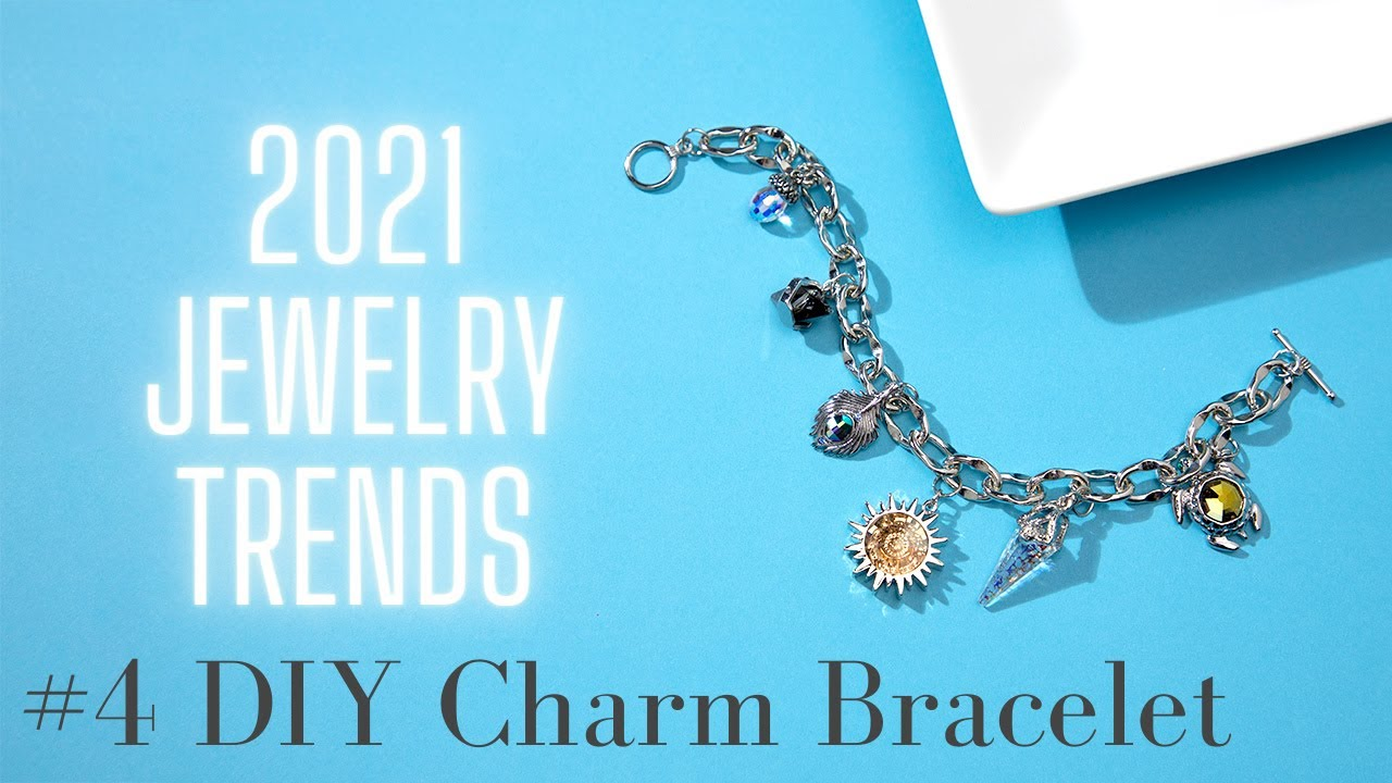 Link chain silver with transparent facet charm and key charm chain silver with transparent faceted charm and key chain