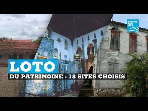 Loto du patrimoine, 18 sites emblématiques ont été choisis thumbnail