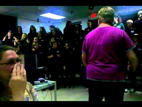 WURTLAND middle school chorus 2010