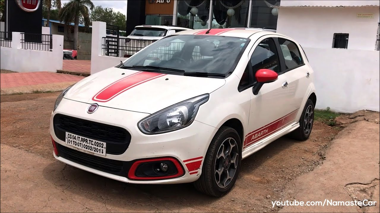 fiat abarth punto evo 2018 real life review youtube. Black Bedroom Furniture Sets. Home Design Ideas