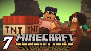 "Minecraft: Story Mode ""BOOMtown Griefers!"" Episode 2 Walkthrough (Part 1)"
