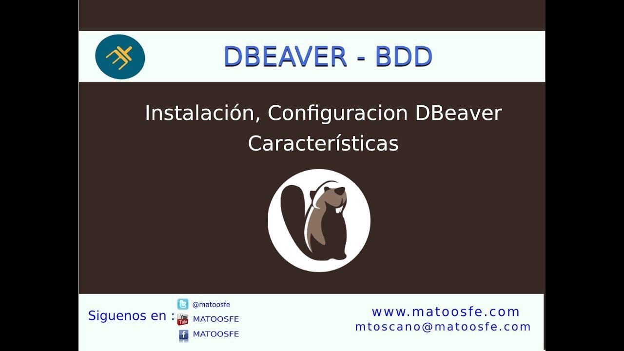 Curso DBeaver - Instalación y Configuración DBeaver