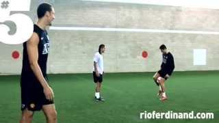 Футбольный фристайл от Роналдо