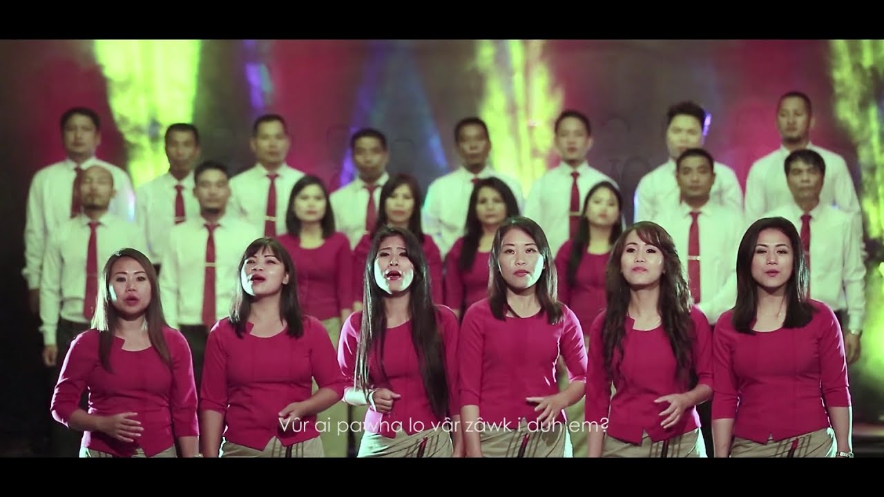 Aizawl EFCI Choir - Thisen Thiltihtheihna (Official Music Video) (cover)