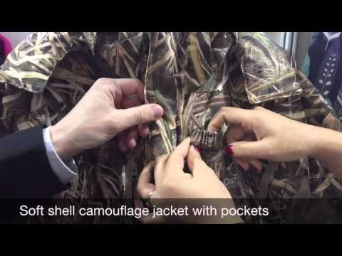 Camouflage Hunting Jackets Are Breathable And Waterproof