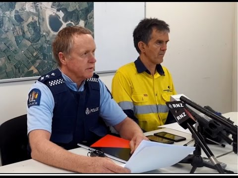 Man dies at Waihi gold mine - media conference