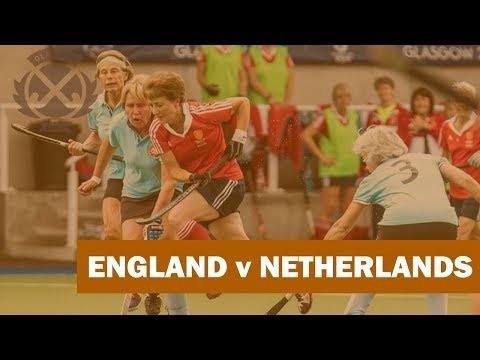 England v Netherlands | Women's o60