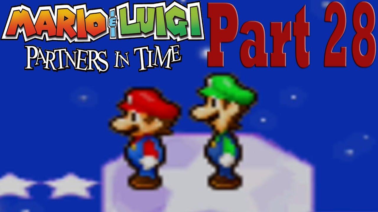 Mario Luigi Partners In Time Part 28 Star Shrine Exploration