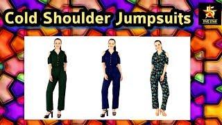 Shop for Cold Shoulder Jumpsuits
