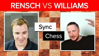 Danny Rensch vs GingerGM | Game 2 | Synchronized Dual Commentary