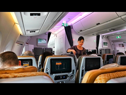 SINGAPORE AIRLINES A350-900XWB FLIGHT EXPERIENCE JAKARTA TO SINGAPORE