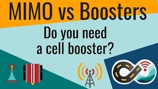 MIMO vs Boosters: Do Cellular Boosters Provide the Best Signal & Data Performance?