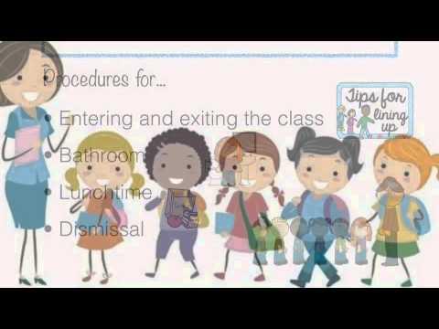 Creating A Classroom Management Plan