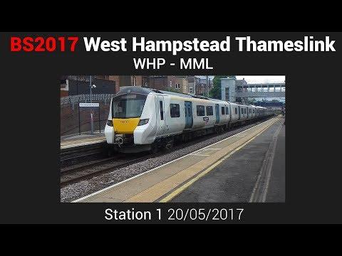 West Hampstead Thameslink - MML [20/05/17] | Birthday Special 2017, Station 1