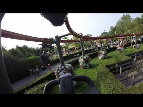 Vleermuis, Right Side - Plopsaland De Panne (On-Ride POV)