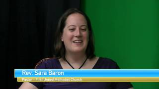 Candid Comments with SICM - Rev. Sara Baron - First United Methodist Church