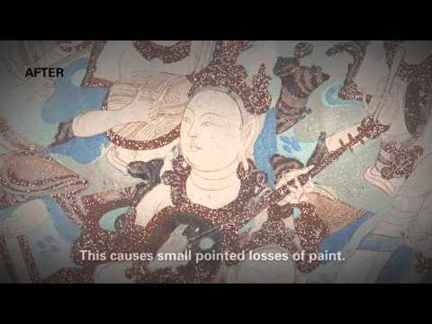 Salt Damage in Wall Paintings at the Mogao Cave Temples