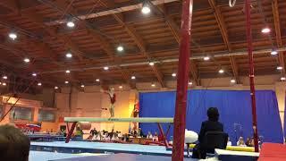 Катя на Первенстве России по спортивной гимнастике в Пензе. Произвольная программа. Бревно