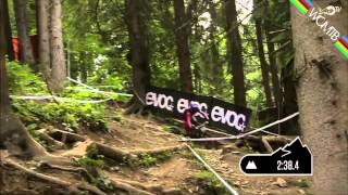 Aaron Gwin win at Leogang without chain