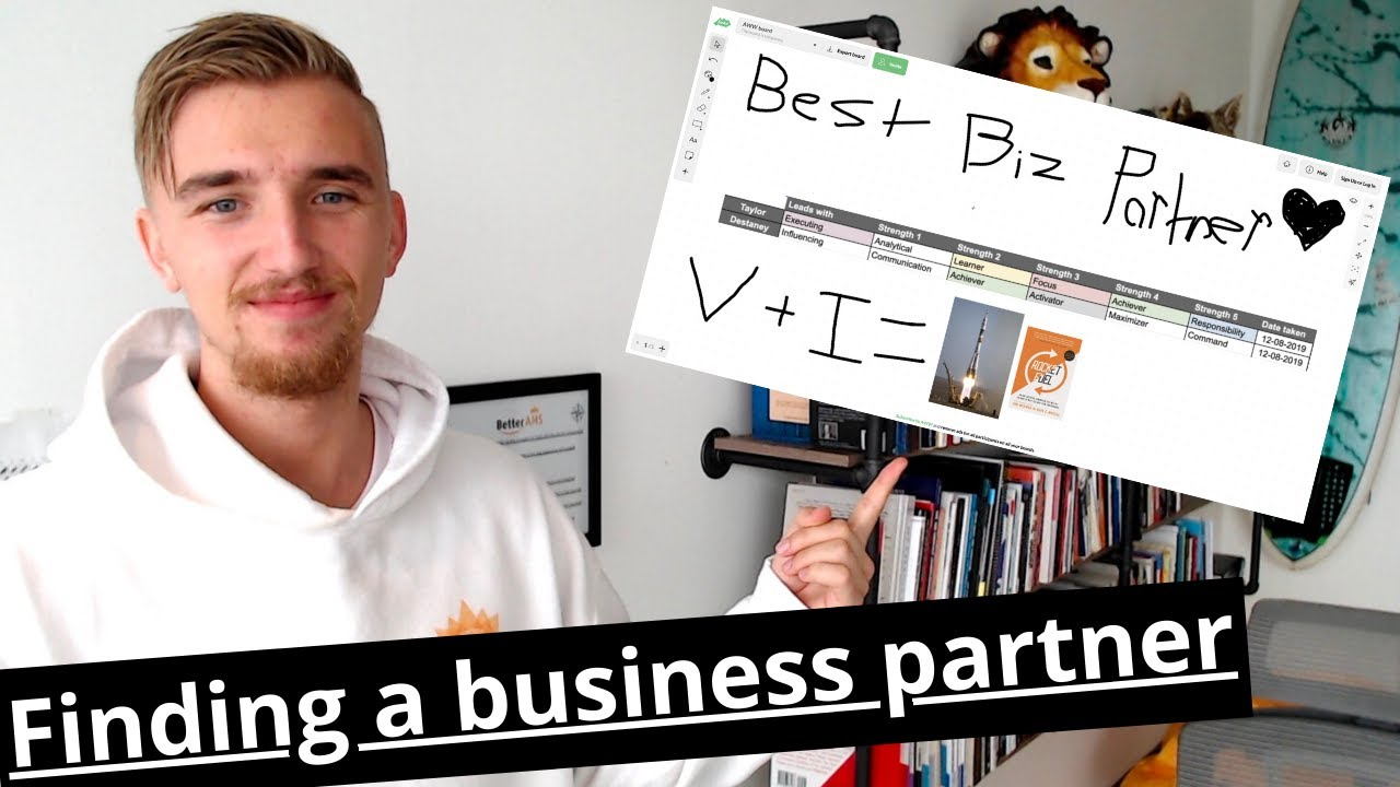 How to find a business partner - YouTube