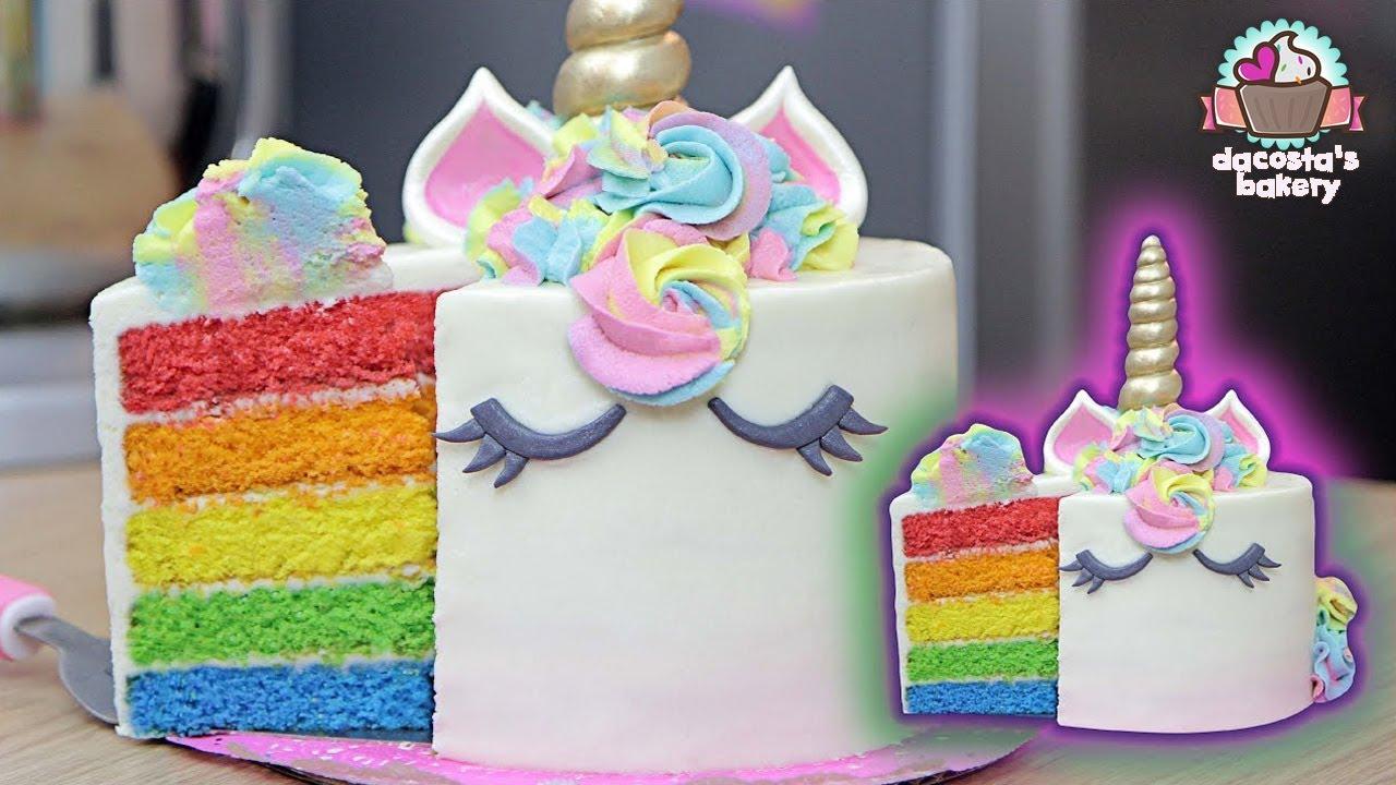 Haz Un Pastel Unicornio Arco 205 Ris Dacosta S Bakery