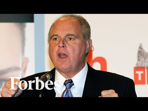 Rush Limbaugh, Conservative Radio Icon, Dies At 70 | Forbes