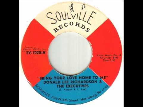 Donald Lee Richardson - Bring Your Love Home To Me.wmv
