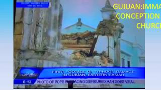 GUIUAN EASTERN SAMAR TYPHOON HAIYAN PRESENTATION
