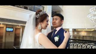 Свадебный клип Алмас&Самал видеооператор Ринат Кокшетау бронируйте даты кон 87750363340