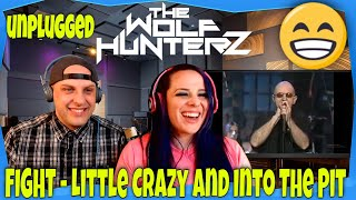 Фото FIGHT - Little Crazy And Into The Pit (MTV) THE WOLF HUNTERZ Reactions
