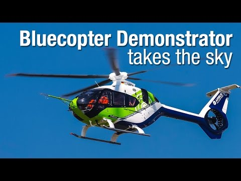 Bluecopter® Demonstrator takes the sky
