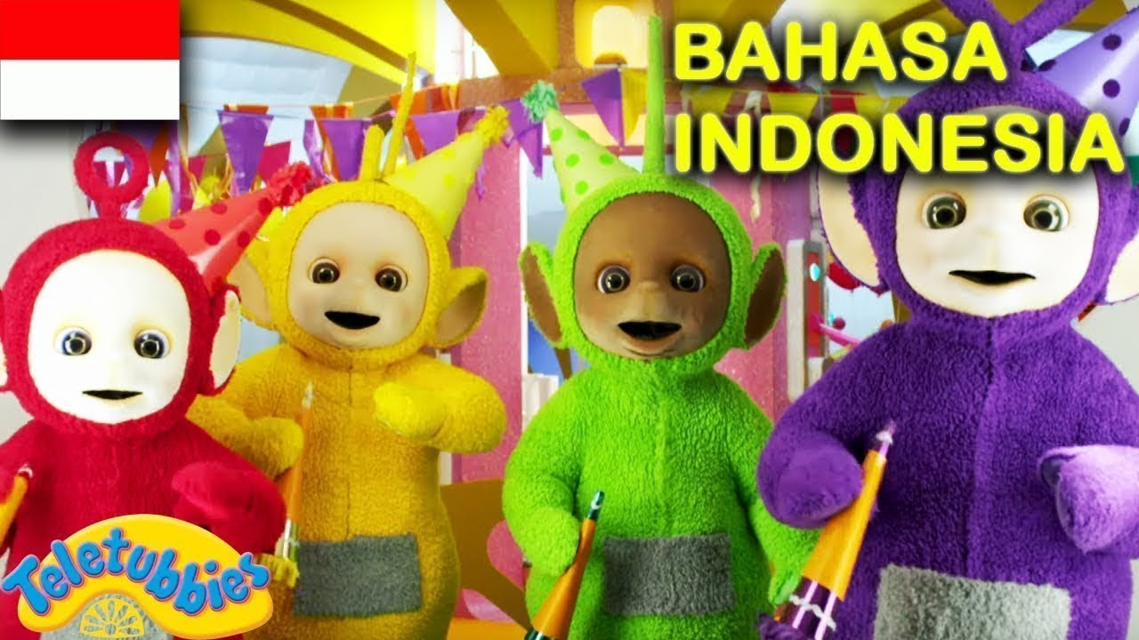 ★Teletubbies Bahasa Indonesia★ Undangan Pesta - Bergiliran - Kuda | Kompilasi Kartun Lucu BARU 2020