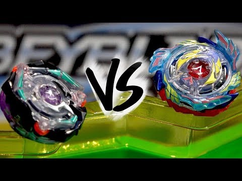 BATTLE: Genesis Valtryek V3 VS Satomb S3 - Beyblade Burst Evolution!
