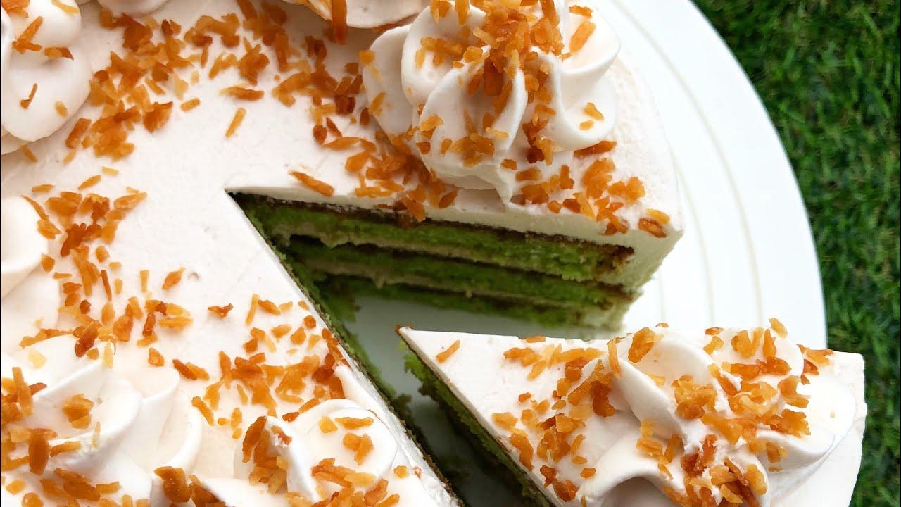 Baking Basics : PANDAN GULA MELAKA CAKE