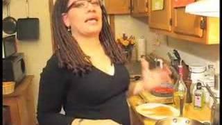 Sogood.tv: Seared Salmon, Sauteed Spinach, Roasted Tomatoes