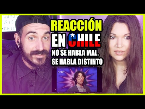 👉 Españoles REACCIONAN a En CHILE no se habla mal, se habla distinto | Somos Curiosos