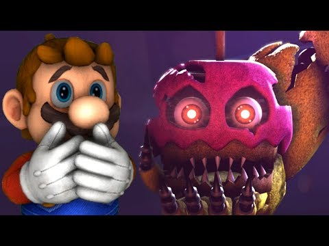 MARIO IN ANIMATRONIC HORROR: THE NIGHTMARE BEGINS [Chapter 2 DEMO]  | Mario the Music Box meets FNAF