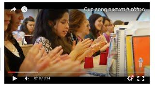 מכללת לינדנבאום Cup song