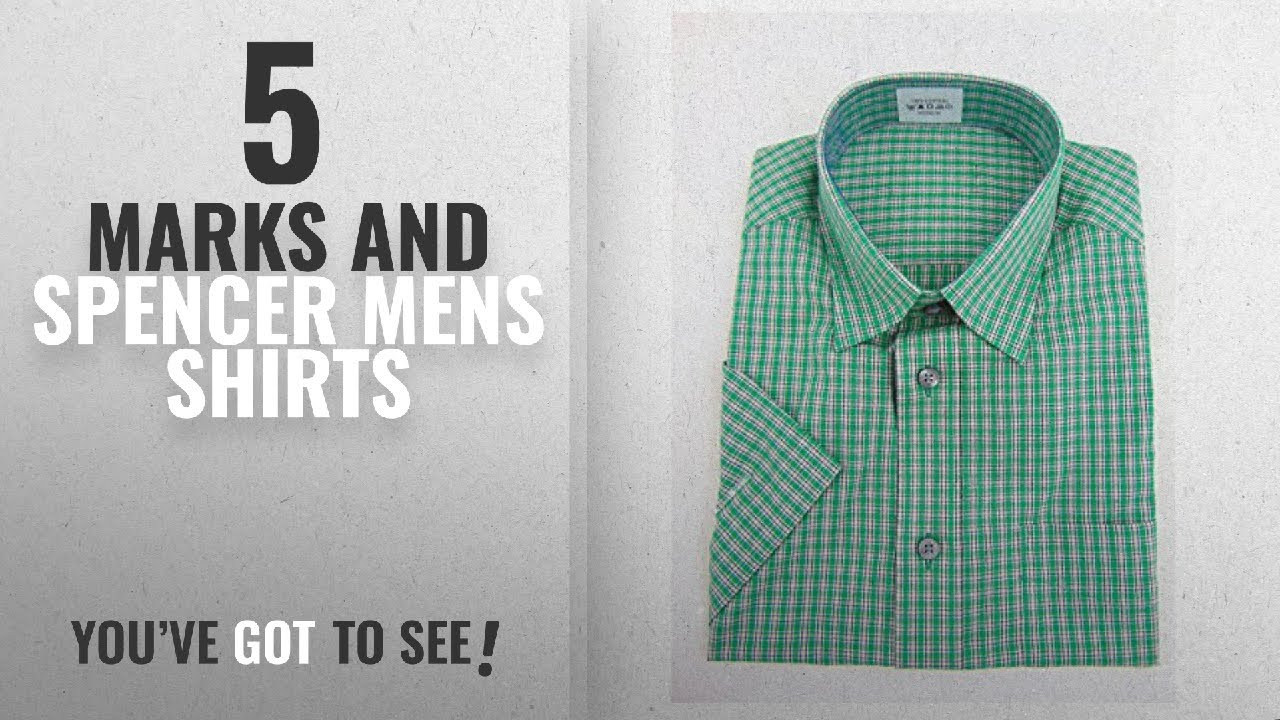 Top 10 Marks And Spencer Mens Shirts 2018 Marks And Spencer Ex