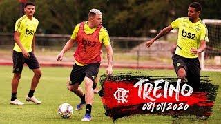 Treino do Flamengo - 08/01/2020